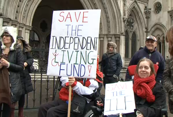 The end of the right to independent living