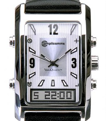 AW 500 multi-alarm wristwatch from Amplicomms