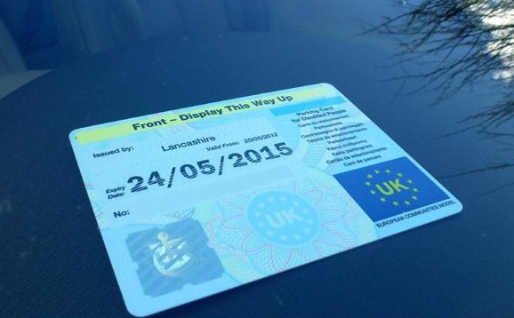 Blue badge scheme: lies and fraud at first hand