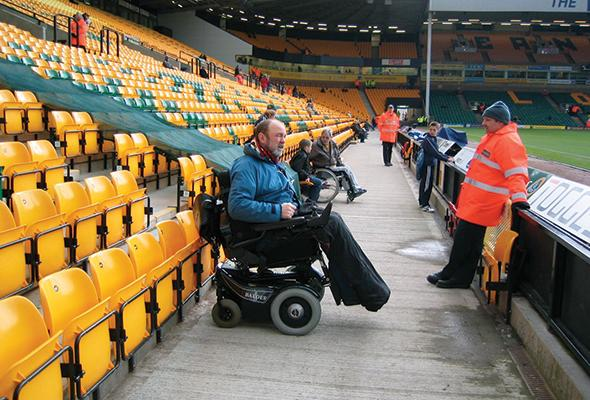 Football results – Disabled fans on how grounds match up