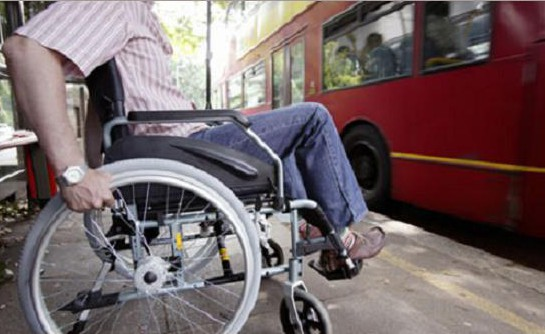Disabled heroes and public transport accessibility