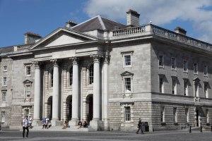 Trinity College Dublin by Marion Bull