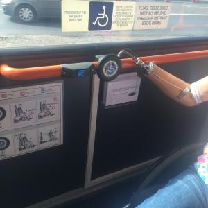 Quantum secures wheelchair-using bus passenger