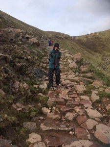 Downhill from Ben Nevis