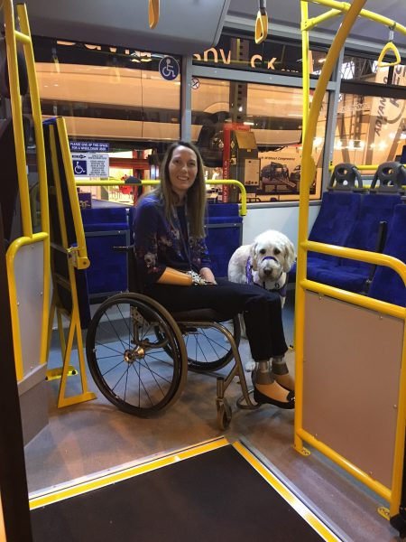 Access on the buses: still a stop/start journey